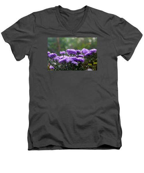 Flowers Edition Men's V-Neck T-Shirt