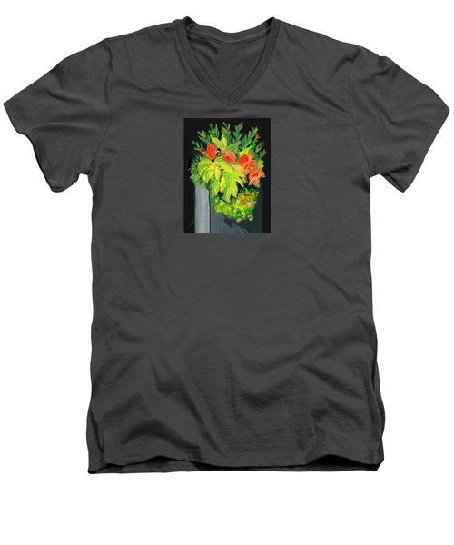Flowers For Cricket Men's V-Neck T-Shirt