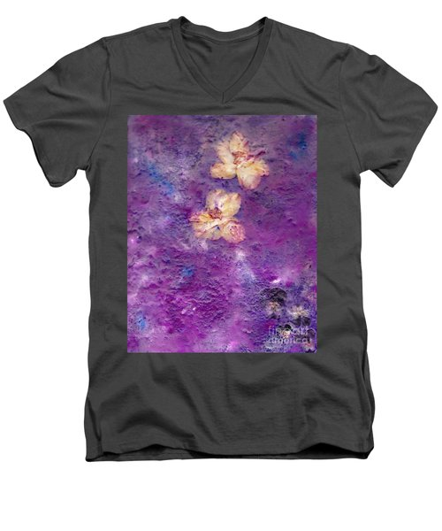 Flowers From The Garden Men's V-Neck T-Shirt