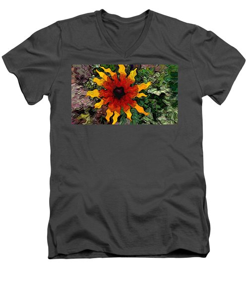Flowerworks Men's V-Neck T-Shirt
