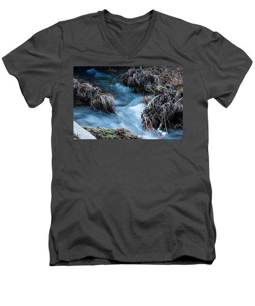 Flowing Creek Men's V-Neck T-Shirt