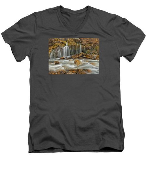 Flowing Water Men's V-Neck T-Shirt
