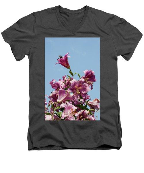 Flp-5 Men's V-Neck T-Shirt