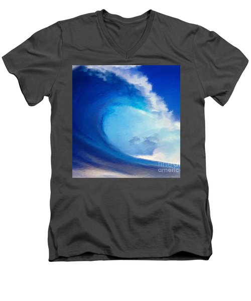 Fluid Men's V-Neck T-Shirt by Anthony Fishburne