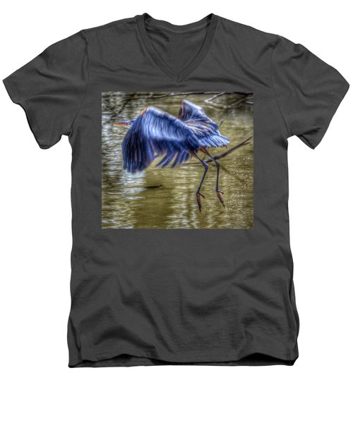 Fly Away Men's V-Neck T-Shirt