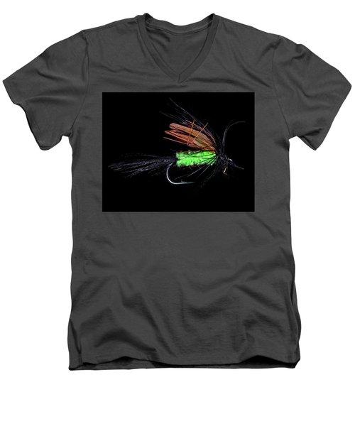 Fly-fishing 1 Men's V-Neck T-Shirt