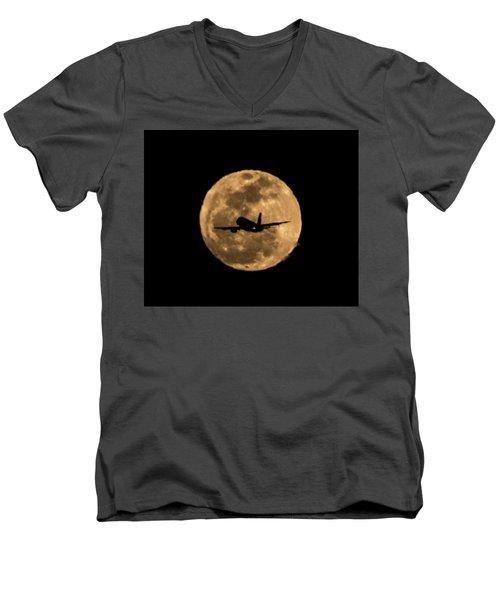 Fly Me Away Men's V-Neck T-Shirt