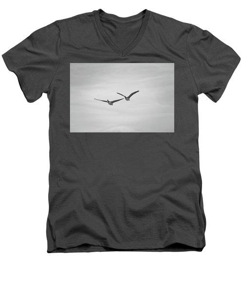 Flying Companions Men's V-Neck T-Shirt
