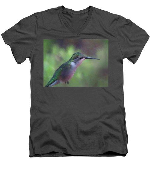 Flying Flower Men's V-Neck T-Shirt
