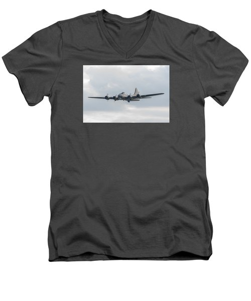 Flying Fortress Sally B Men's V-Neck T-Shirt