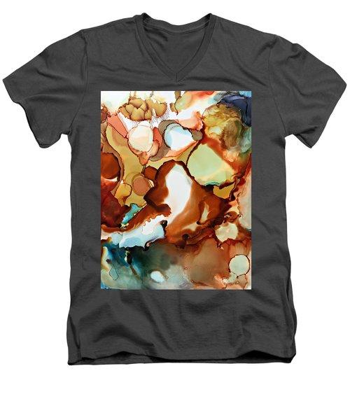 Flying Fortune Cookies Men's V-Neck T-Shirt