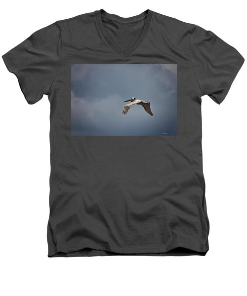 Flying High Men's V-Neck T-Shirt by Phil Mancuso