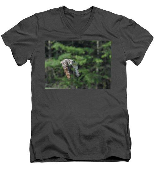 Flying Low... Men's V-Neck T-Shirt