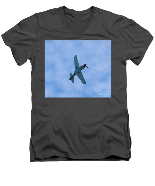 Flying Tiger 3 Men's V-Neck T-Shirt
