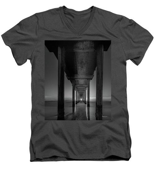 Fog Bank At Dawn Men's V-Neck T-Shirt