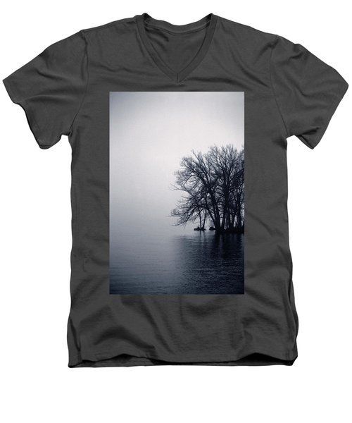 Fog Day Afternoon Men's V-Neck T-Shirt