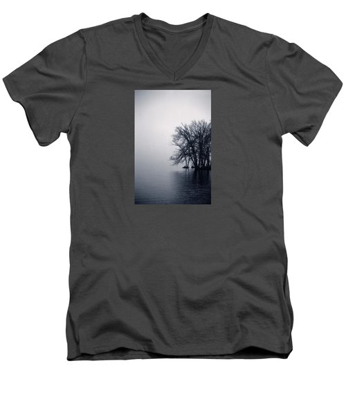 Fog Day Afternoon Men's V-Neck T-Shirt