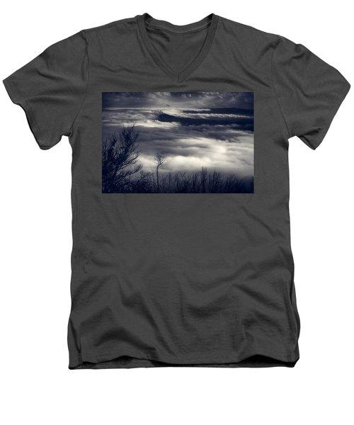 Fog Wave Men's V-Neck T-Shirt