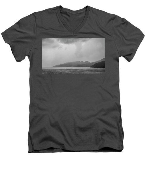 Foggy Island Men's V-Neck T-Shirt