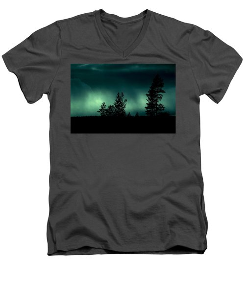 Foggy Night Men's V-Neck T-Shirt