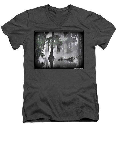 Tread Here Carefully Men's V-Neck T-Shirt