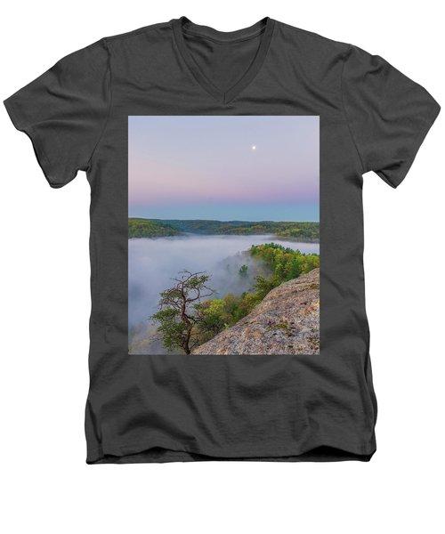 Foggy Valley Men's V-Neck T-Shirt