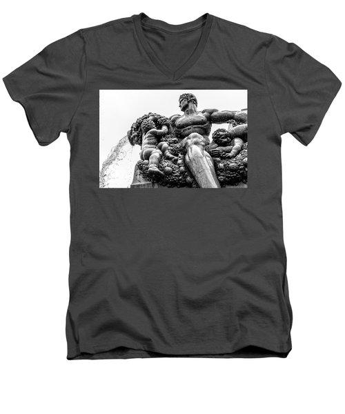 Fontana Di Piazza Solferino-1 Men's V-Neck T-Shirt