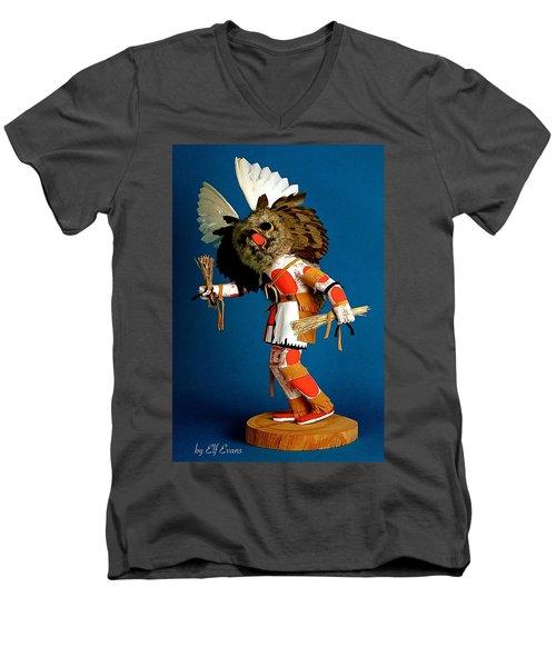 Fool Me Once Shame On Me Men's V-Neck T-Shirt by Elf Evans