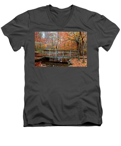 Foot Bridge Men's V-Neck T-Shirt