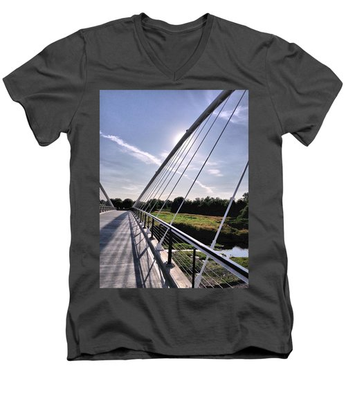 Footbridge 1 Men's V-Neck T-Shirt