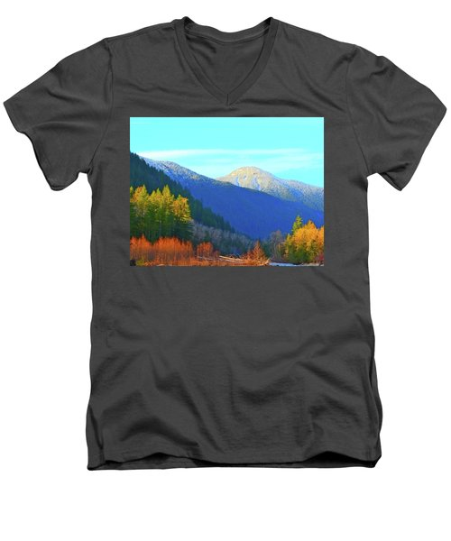 Foothills Men's V-Neck T-Shirt