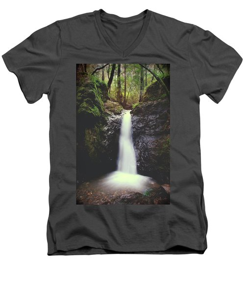 Men's V-Neck T-Shirt featuring the photograph For All The Things I've Done by Laurie Search