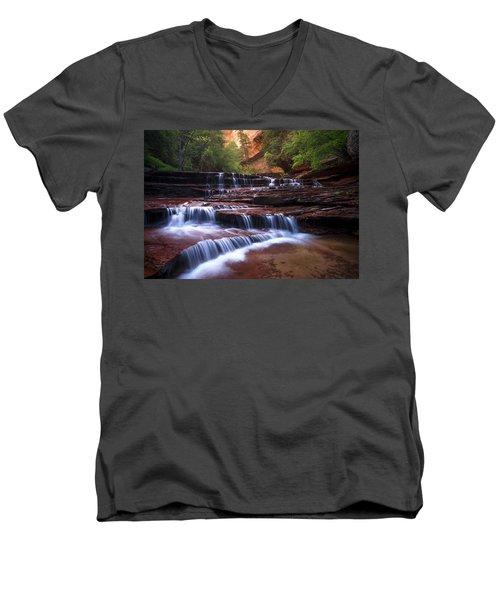 For An Angel Men's V-Neck T-Shirt