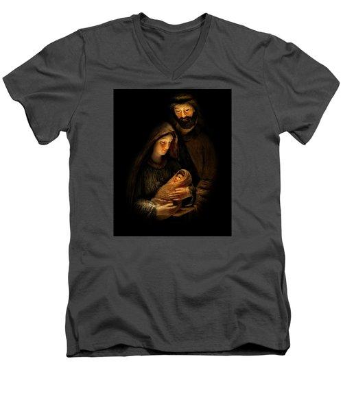 For Our Salvation Men's V-Neck T-Shirt