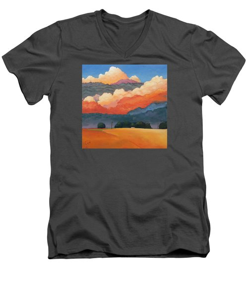 For The Love Of Clouds Men's V-Neck T-Shirt by Gary Coleman