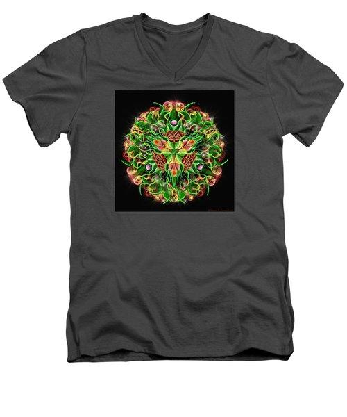 Forbidden Flower Men's V-Neck T-Shirt