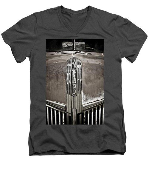 Ford Chrome Grille Men's V-Neck T-Shirt by Marilyn Hunt