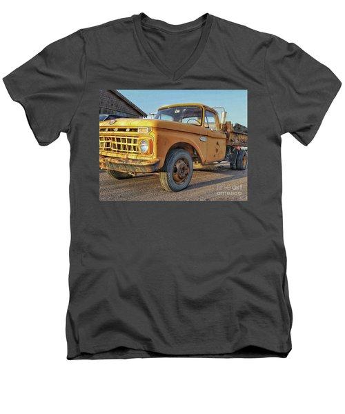 Ford F-150 Dump Truck Men's V-Neck T-Shirt