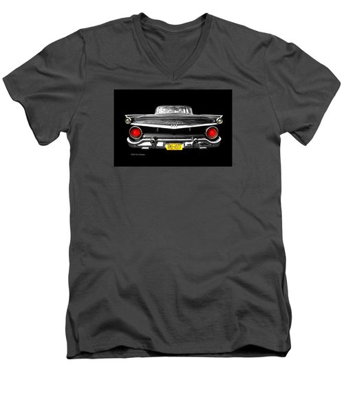 Ford Fairlane 500 Men's V-Neck T-Shirt by Diana Angstadt