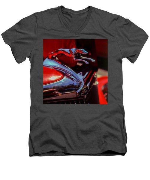 Ford Greyhound Men's V-Neck T-Shirt