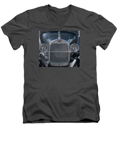 Ford Grill Men's V-Neck T-Shirt