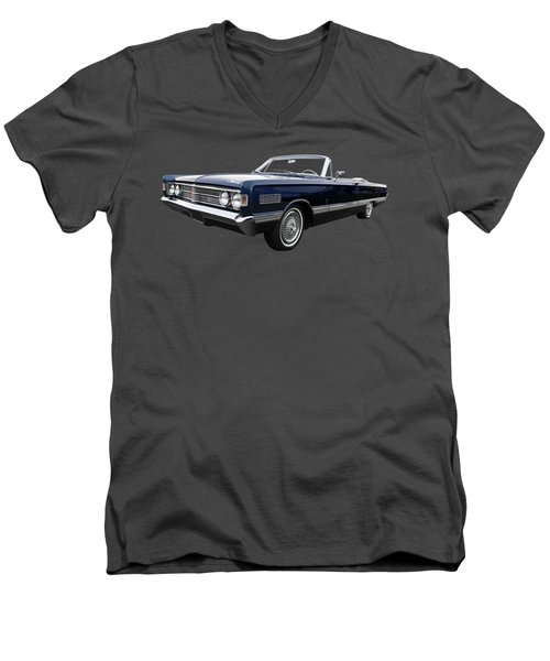 Men's V-Neck T-Shirt featuring the photograph Ford Mercury Park Lane 1966 by Gill Billington