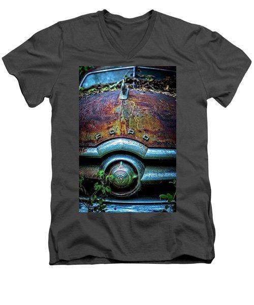 Ford Tudor Men's V-Neck T-Shirt