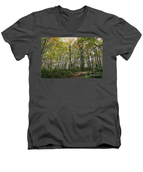 Forest Canopy Men's V-Neck T-Shirt
