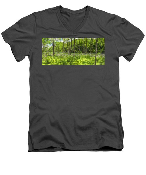 Forest Floor Dame's Rocket Men's V-Neck T-Shirt