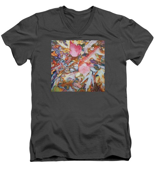 Forest Floor Tapestry Men's V-Neck T-Shirt