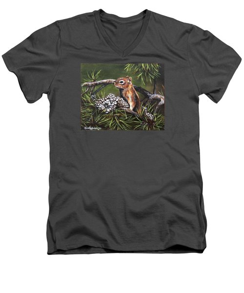Forest Friend Men's V-Neck T-Shirt
