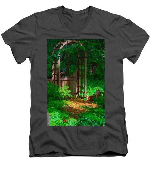 Forest Gateway Men's V-Neck T-Shirt