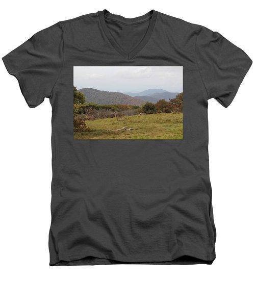 Forest Highlands Men's V-Neck T-Shirt
