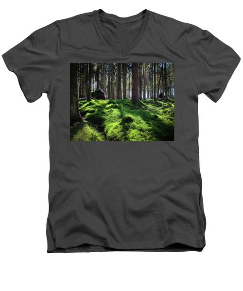 Forest Of Verdacy Men's V-Neck T-Shirt